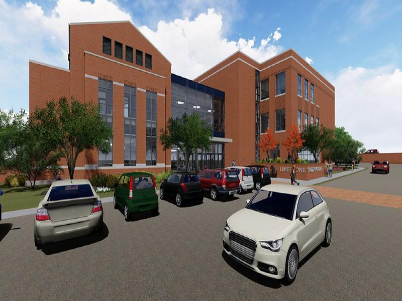 Library & Student Center: Architectural Renderings