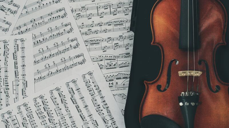 music violin sheets