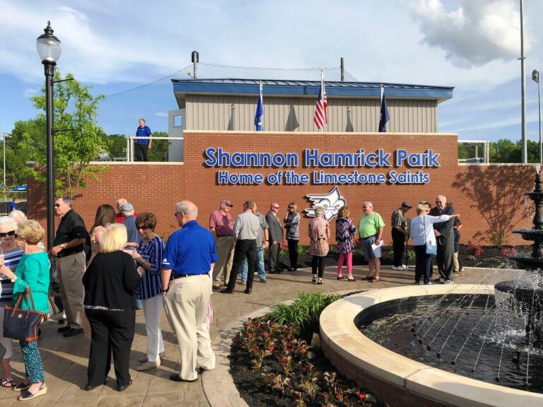 Shannon Hamrick Park Officially Dedicated At Limestone College