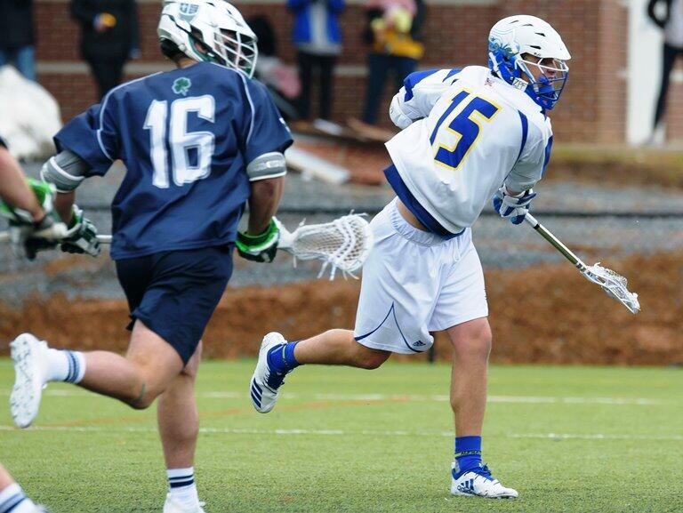 Battle Of Top 20 Men's Lacrosse Teams Set For Saints Field On Friday Night, April 5!