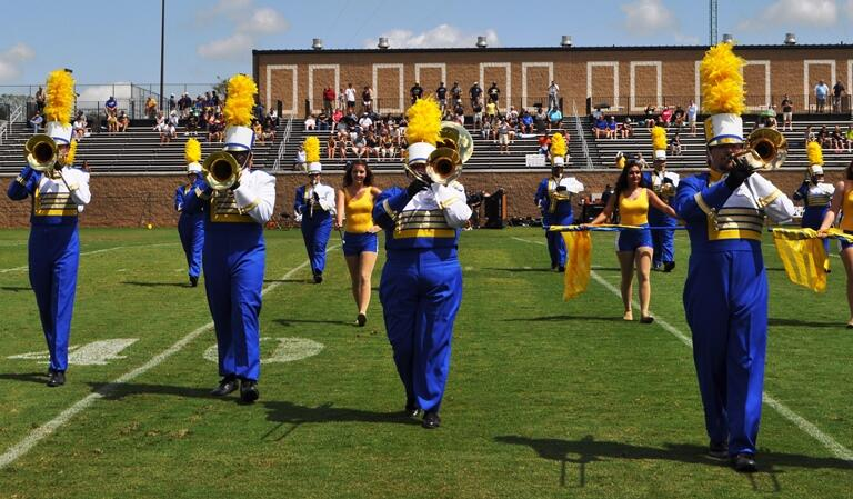 Marching Saints Now Welcoming Students From Spartanburg Community College