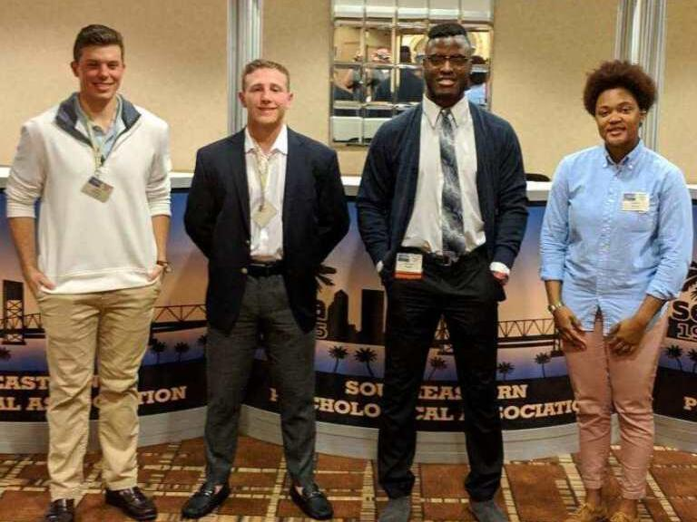Limestone Psychology Students Present At National Conference