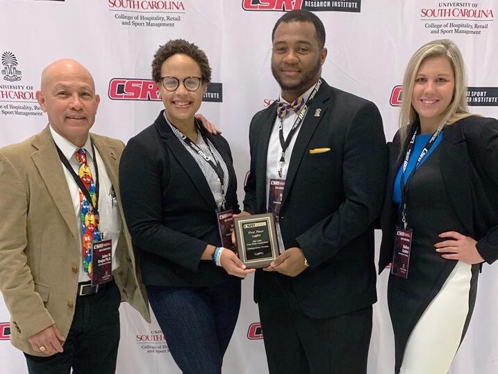 Limestone Sport Management Students Take First Place Award In Case Study Competition