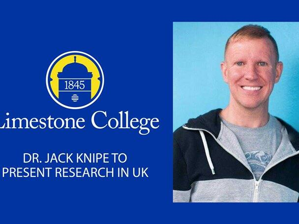 Dr. Jack Knipe To Present Research At Conference In United Kingdom
