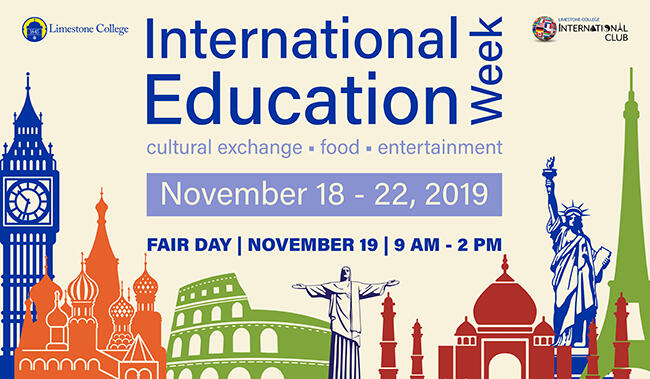 International Education Week Activities Coming To Limestone College November 18-22