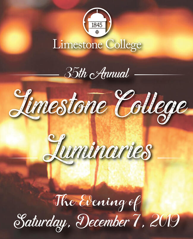 Luminaries, Chorus Concert Will Welcome Christmas Season At Limestone On Saturday, December 7