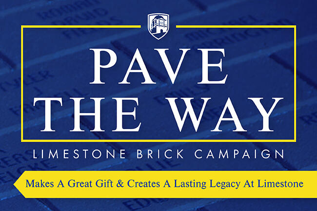 Engrave Your Place In Limestone History With A Commemorative Brick Purchase!
